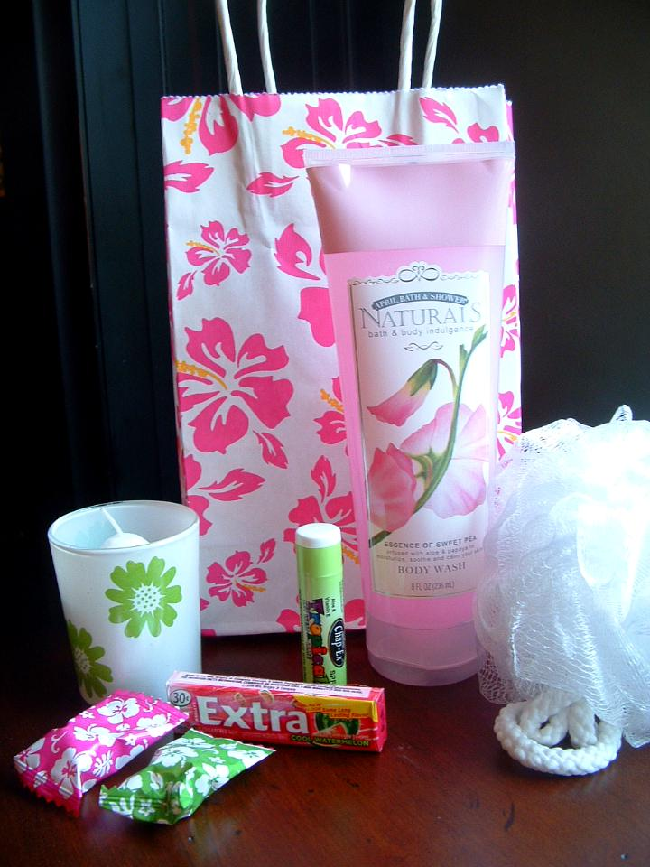 Wedding Shower Goodie Bag Ideas : BRIDAL SHOWER GOODIE BAGS The Seasonal Home