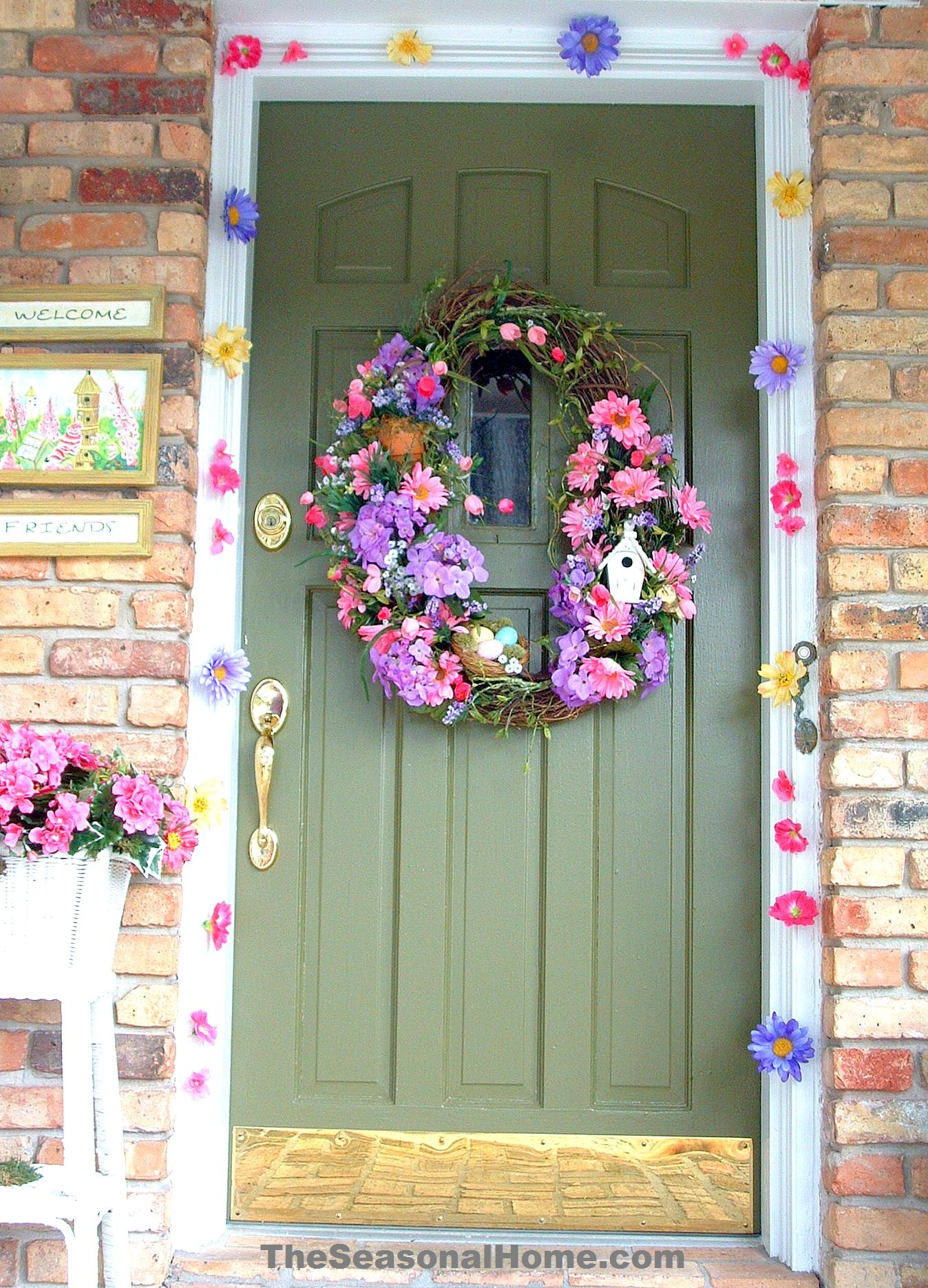 "Spring and Easter Outdoor ""DOOR"" Decoration « The Seasonal Home"