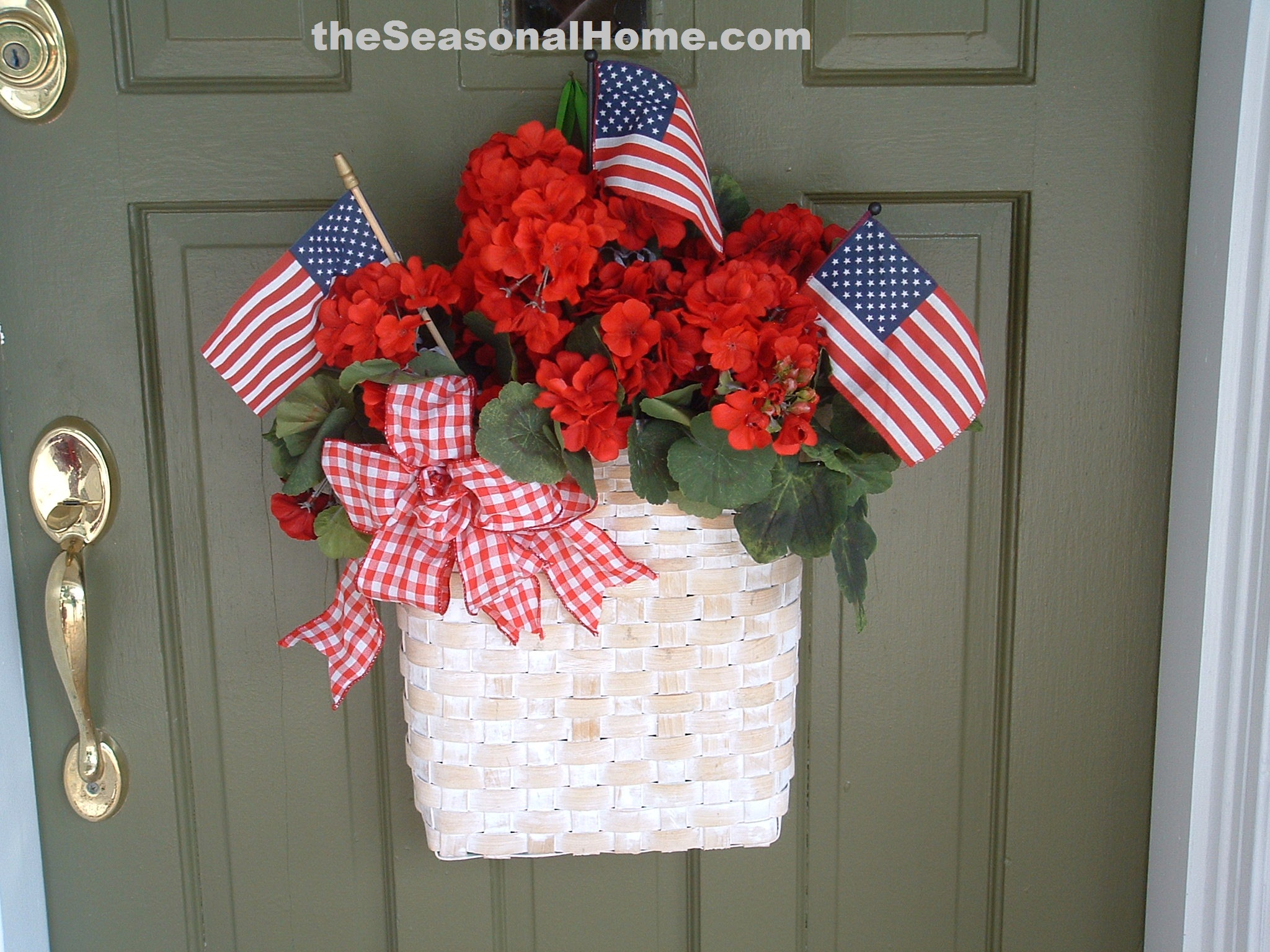 Easy americana the seasonal home for Patriotic decorations for home