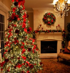 ROSE_Tree n Fireplace_l