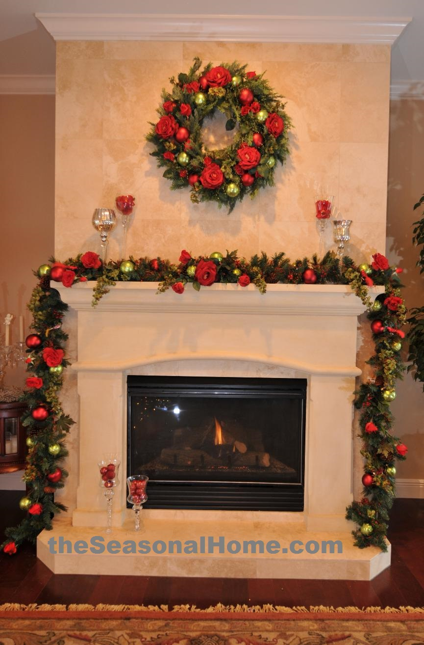 Rose Theme Fireplace_c