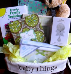 baby memories basket