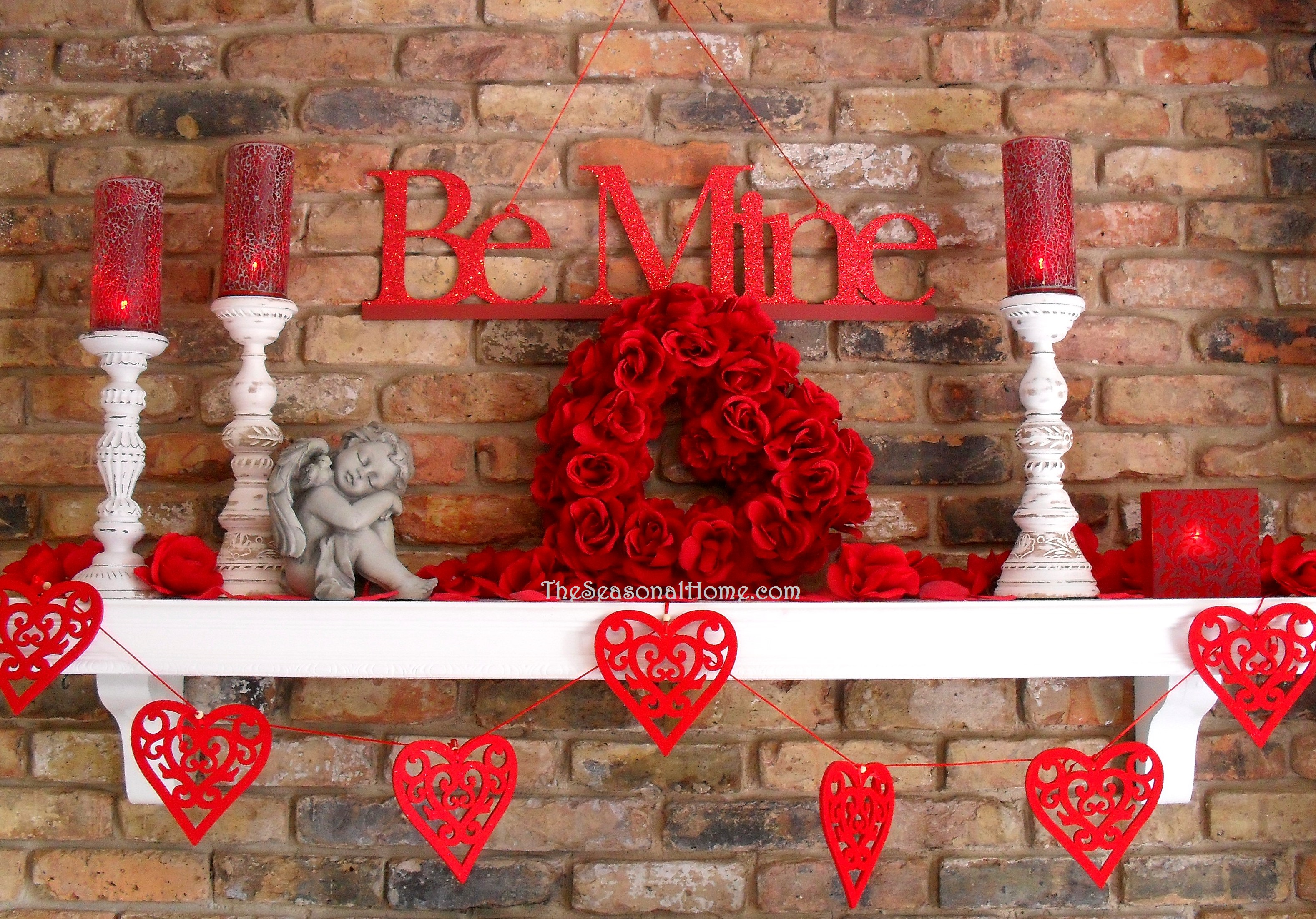Inexpensive decorations for st valentine s day the for Deco saint valentin