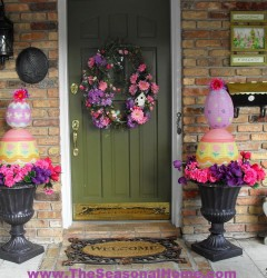 egg topiaries 1