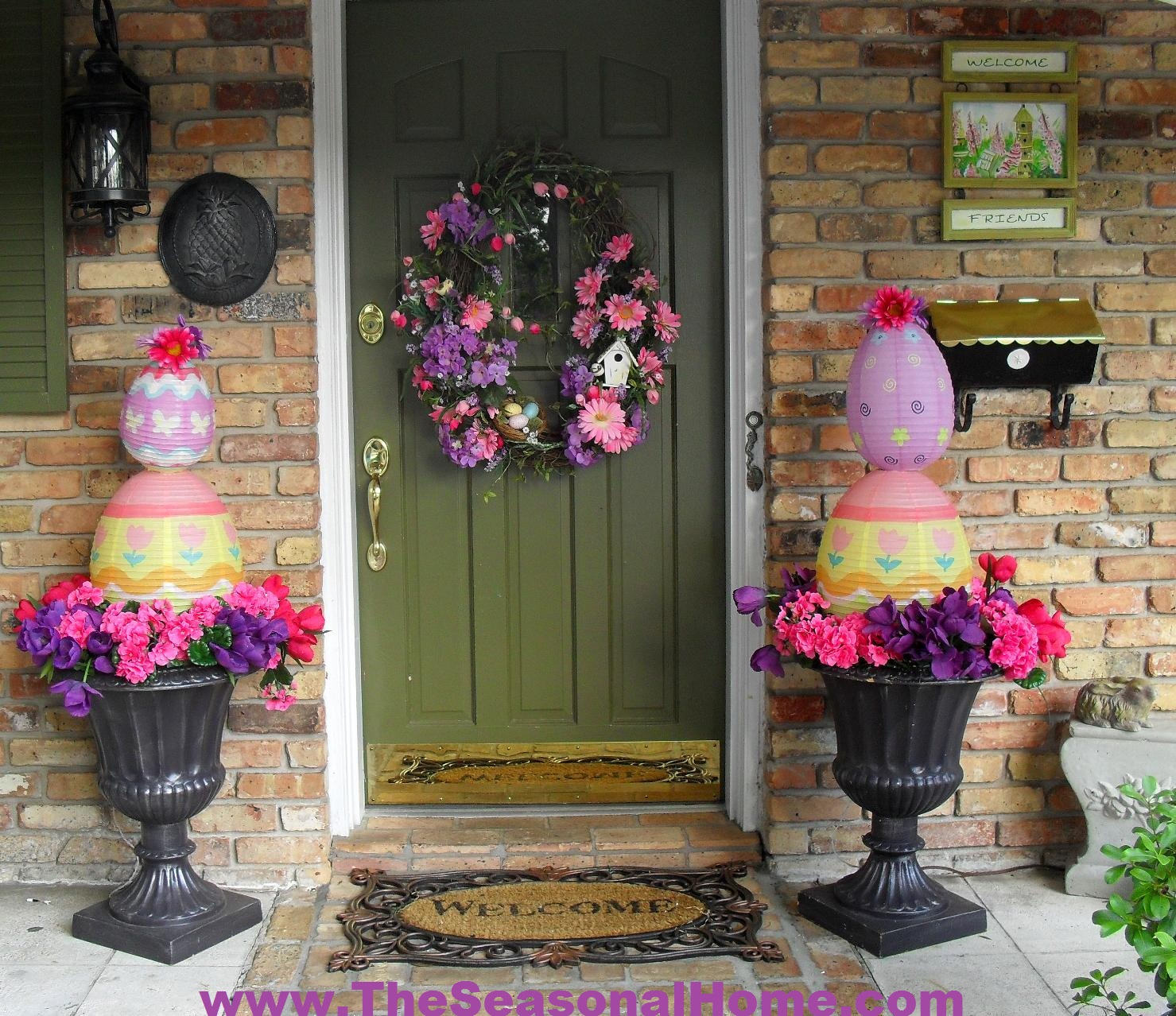 Easter egg topiary the seasonal home for Easter decorations ideas for the home