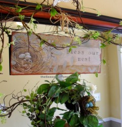 s_Foyer_nest sign n wreath