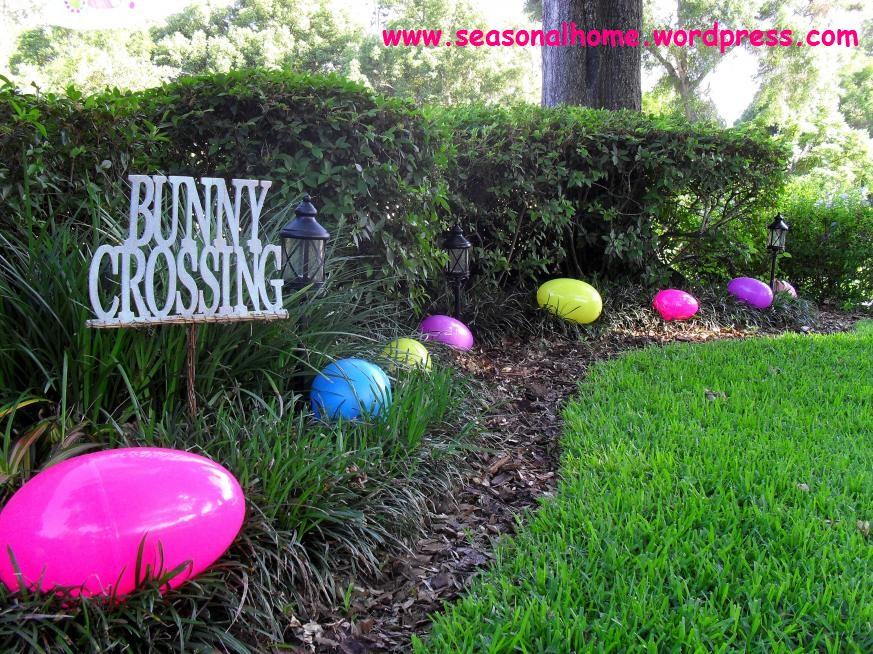 The easter yard the seasonal home for Decoration jardin exterieur