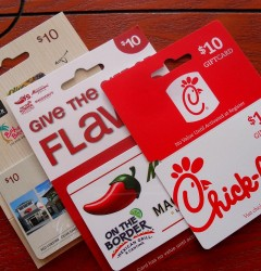 gift ccards