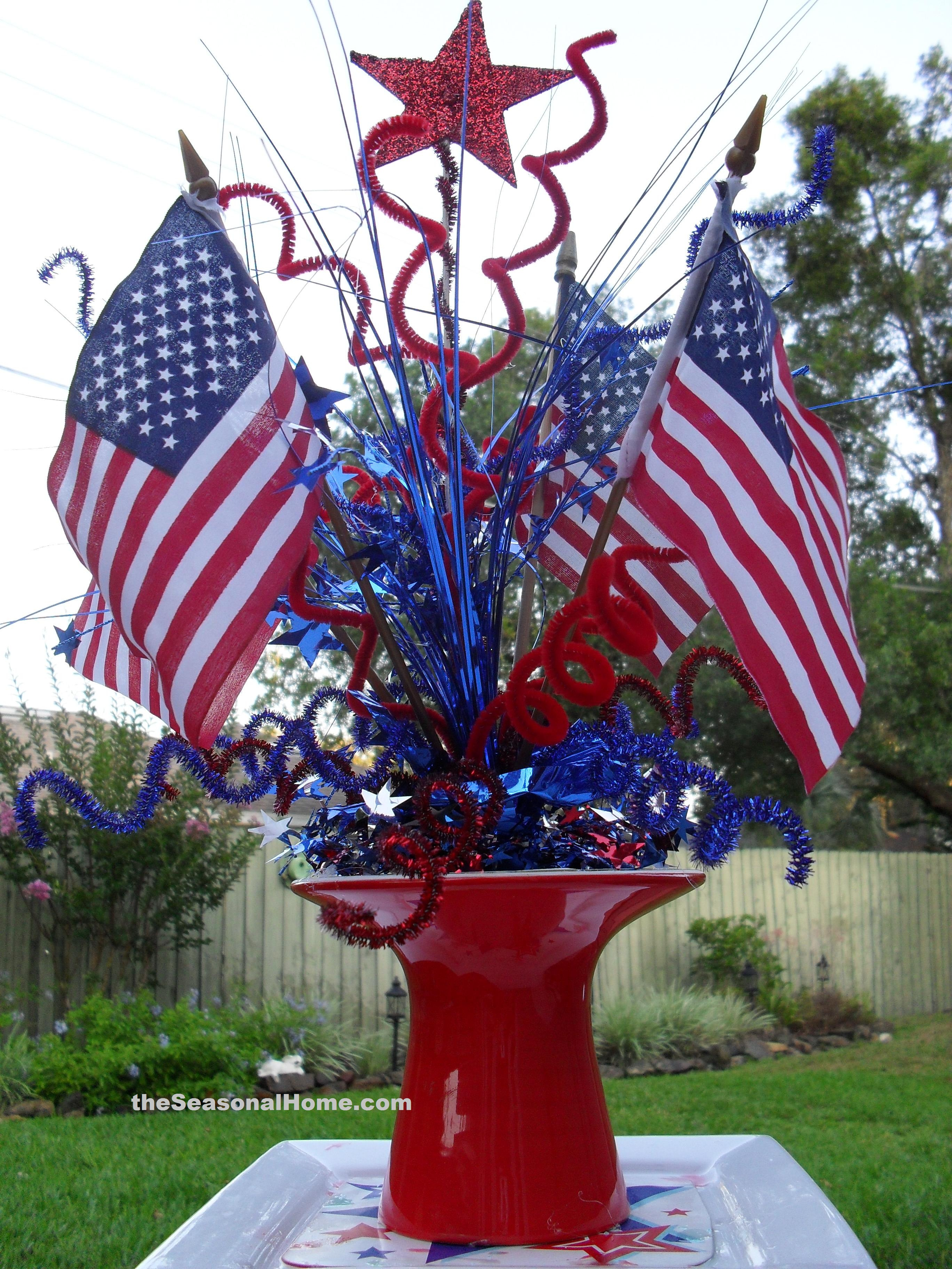A Patriotic Picnic Challenge The Seasonal Home