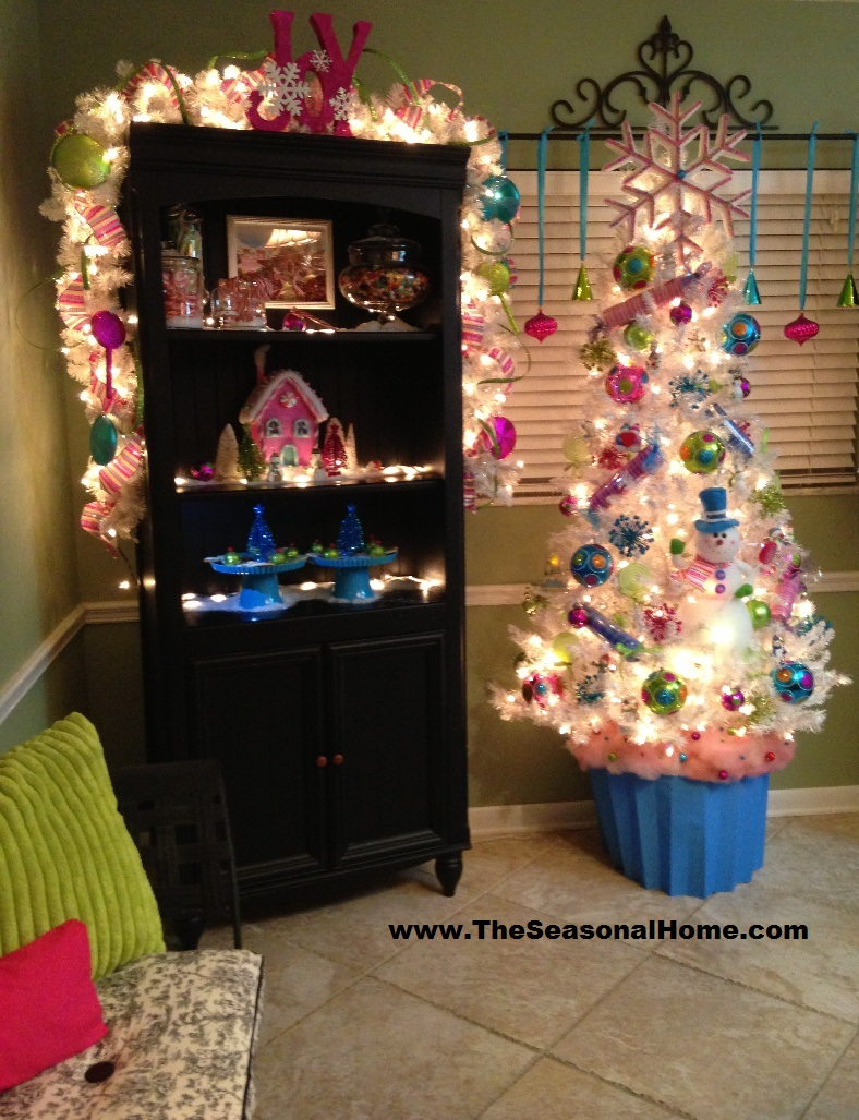 How to make large faux christmas candy decorations for Chocolat decoration