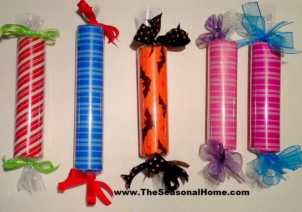 Large, Faux CHRISTMAS CANDY Decorations