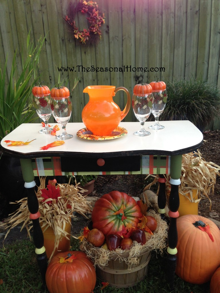 s_pumpkin drinks AND table