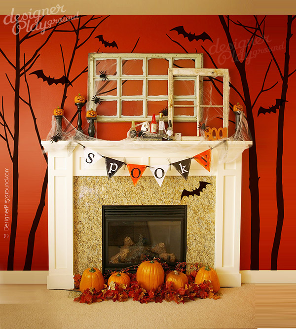 k163-halloween_tree_bats-wall_decal