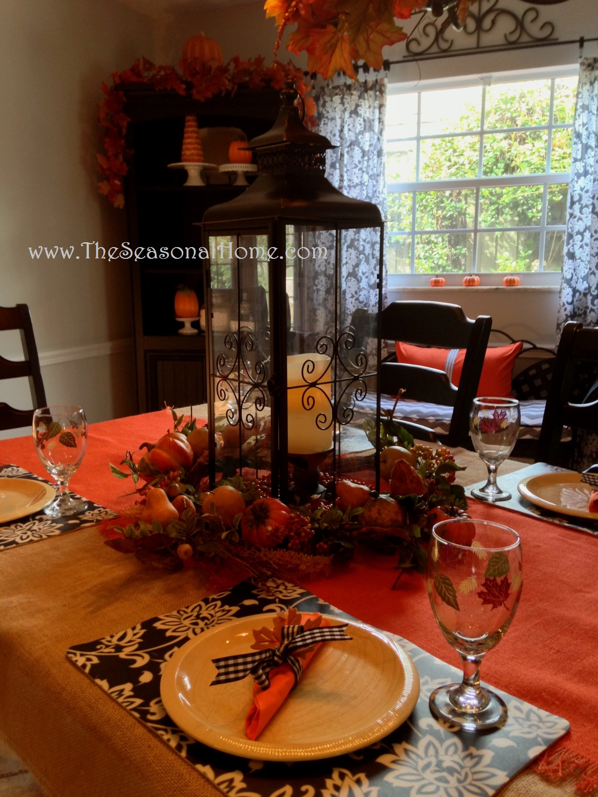 sfall tablecloseup 3 Chandelier Ideas for Fall