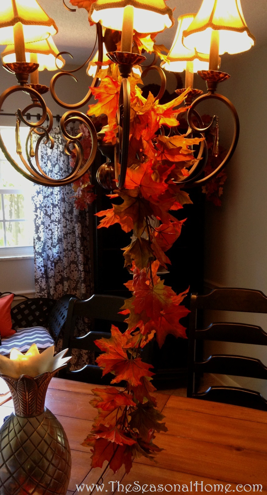 3 Chandelier Ideas For Fall Halloween Thanksgiving