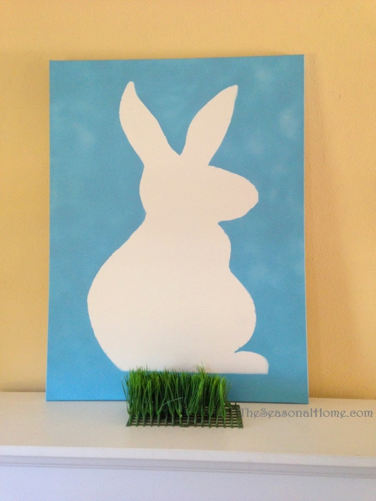 s_bunny canvas_with grass