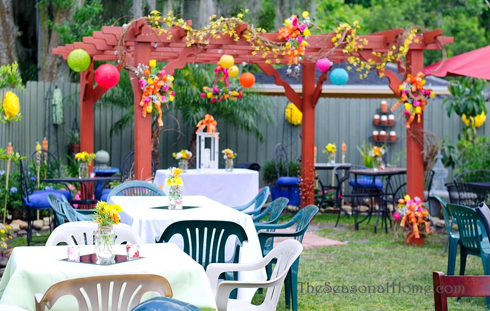 Ideas For A Budget Friendly Nostalgic Backyard Wedding Reception