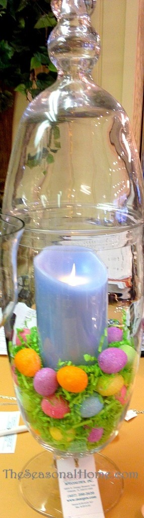 flameless candle in jar_single