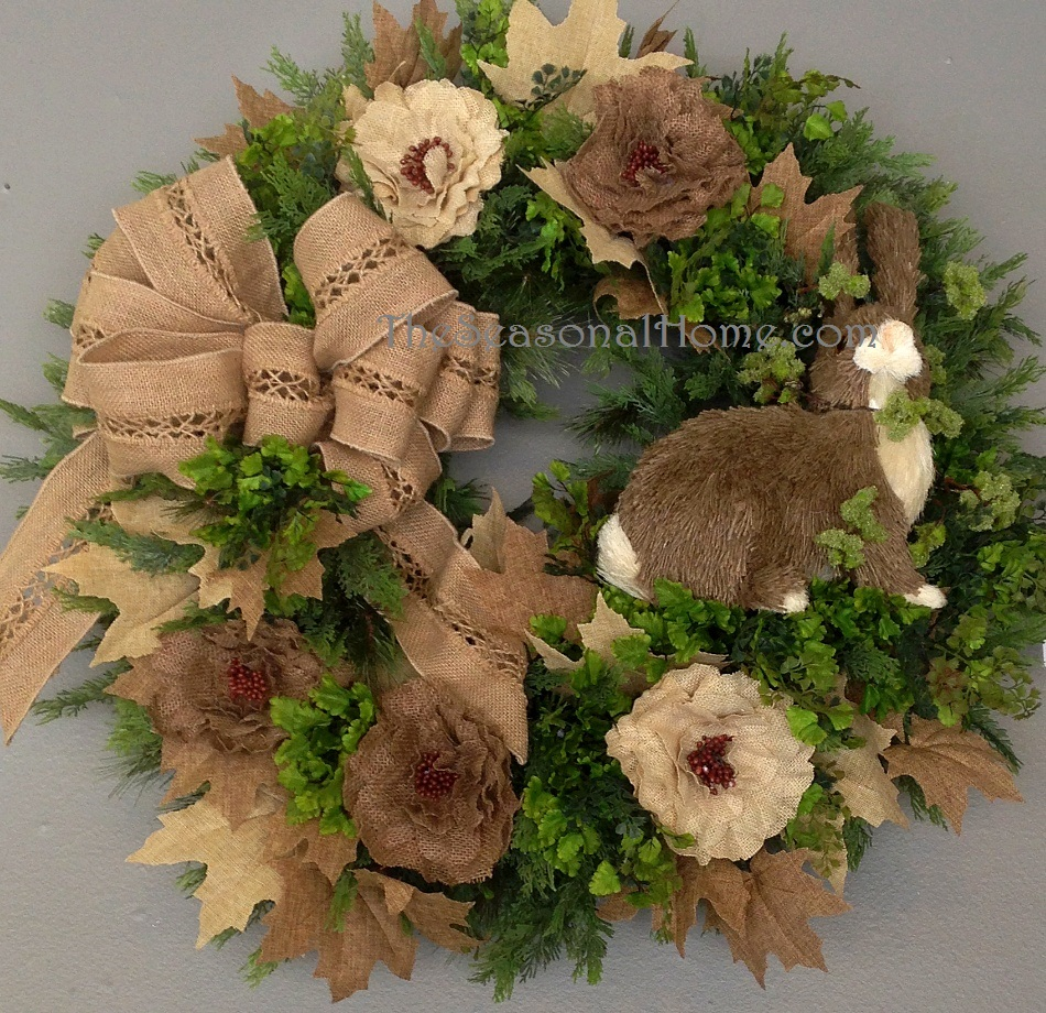 rabbit wreath